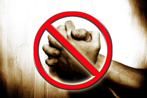No Praying