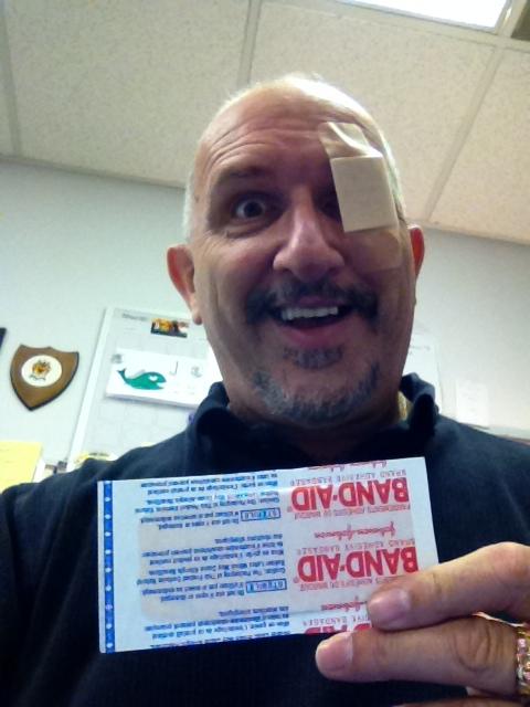 Eye pad Danny 1